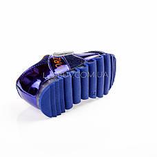 Кроссовки с сеткой синие легкие и яркие 902-9, фото 3