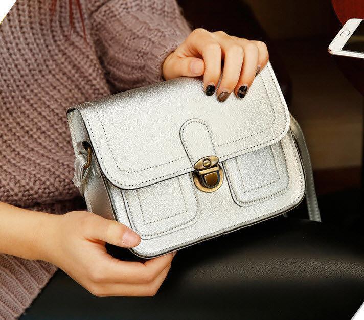4e2daf1b35c9 Женская сумка почтальон-сундучок на защелке - ИМ Ирина- магазин женской и  мужской одежды