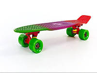 Penny Board FISH COLOR 22in (зеленый-фиолетовый-красный), фото 1