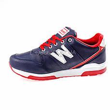 Кросівки синьо-червоні 228-97, фото 2