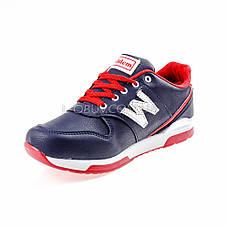 Кросівки синьо-червоні 228-97, фото 3