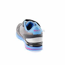 Кроссовки сине-розовые 221-3, фото 3