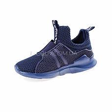 Кроссовки синие 210-9, фото 2