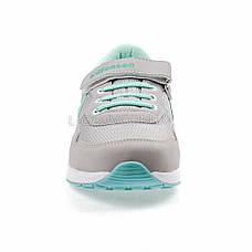 Кросівки сітка сірі-м'ята 2001-14, фото 2