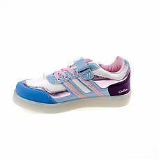 Кросівки зі світною LED підошвою, на батарейках, мигалки, на Батарейках 2101-63, фото 2