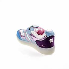 Кросівки зі світною LED підошвою, на батарейках, мигалки, на Батарейках 2101-63, фото 3