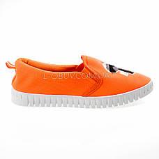 Мокасины оранжевые легкие удобные 2212-19, фото 2