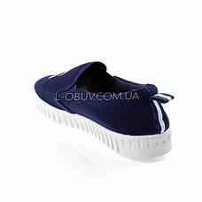 Мокасины синие легкие удобные 2212-9, фото 3