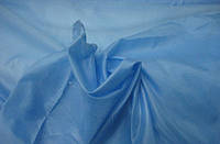 Подкладка нейлон светло-голубая ткань