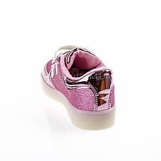 Светящиеся кроссовки, мигающая подошва, розовые 701-3, фото 3