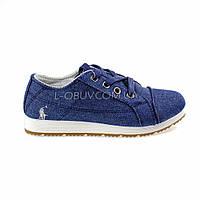 Туфли синие POLO Шалунишка 106-9
