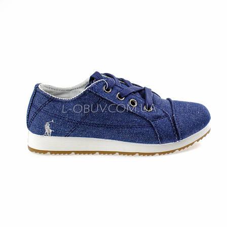 Туфли синие POLO Шалунишка 106-9, фото 2