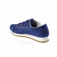 Туфли синие POLO Шалунишка 106-9, фото 3