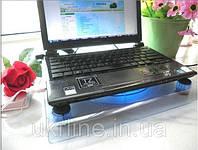 Прозрачная охлаждающая подставка для ноутбука Notebook Fan Laptop Cooler RX-830