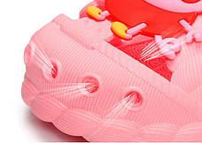 Детские шлепки - вьетнамки - сланцы Свинка Пеппа розовые 8301-3, фото 3