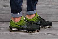 Мужские кроссовки Nike Air Max Зеленые Реплика ААА+