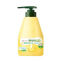 "Гель для душа "" Банановый "" - Welcos Kwailnara Banana Milk Body Cleanser, 560 мл"