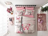 Семейное постельное белье TAC Giselle Pink Ранфорс