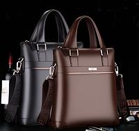 Мужская кожаная сумка. Модель 61323, фото 4