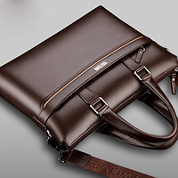 Мужская кожаная сумка. Модель 61323, фото 5