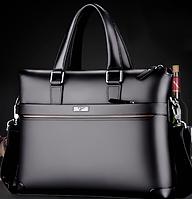 Мужская кожаная сумка. Модель 61323, фото 7