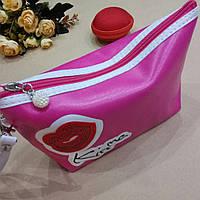 Косметичка Kiss mi CR-97 22/11/8см,  розовая