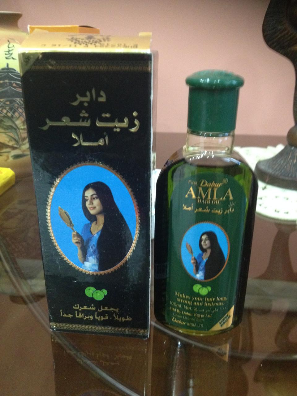 Масло для волос Dabur Amla Hair Oil 90 мл Индия  - купить со скидкой