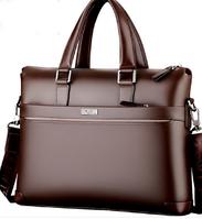 Мужская кожаная сумка. Модель 61323, фото 8