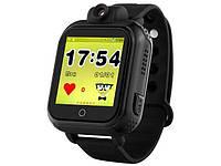 Умные часы Smart Watch Q200 Kids black Gsm/Gps, датчик снятия, копка SOS, удалённый трекинг, камера Гарантия!