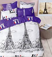 Комплект постельного белья East I Love Paris ЕВРО
