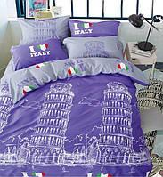 Комплект постельного белья East I Love Italy ЕВРО
