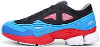 Мужские кроссовки Raf Simons x Adidas Consortium Ozweego 2 Black/Red/Lucora