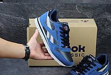 Кроссовки мужские Reebok синие с голубым, фото 3