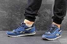 Кроссовки мужские Reebok синие с голубым, фото 2