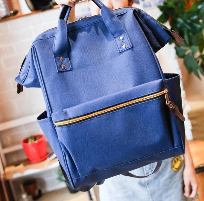 Сумка-рюкзак женская Flure Blue - MY BAG - интернет магазин рюкзаков в Киеве 874d61d8ae2