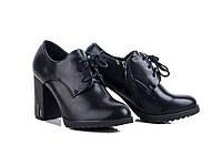 Новые черные туфли ботильоны, класcика