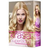 Интенсивный осветлитель для волос KRASA Super Blonde