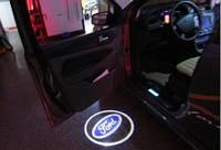 Дверной логотип LED LOGO 020 FORD, светодиодный логотип
