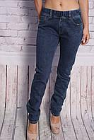 Женские джинсы большого размера без застежки пояс на резинке (код 1548)30-38 размеры , фото 1