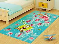 Ковер в детскую комнату Sponge Bob Seksek 100х200 Confetti
