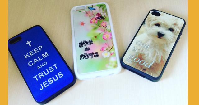 Чехлы для телефонов с христианскими текстами