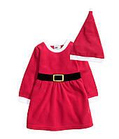 Платье новогоднее,платье нарядное девочке платье праздничное с колпаком, фото 1