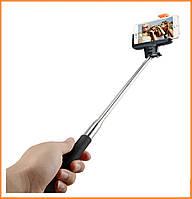 Монопод для селфи (селфи-палка, палка для селфи, штатив) Nomi SMB-01 с Bluetooth Black, фото 1