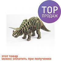 3D пазл Трицератопс / Оригинальные подарки