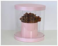 Пластиковая круглая коробка d=30 h=30