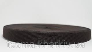Тесьма окантовочная  23 мм 2п Чёрный