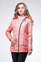 Молодежная демисезонная  куртка приталенного силуэта 44-52р