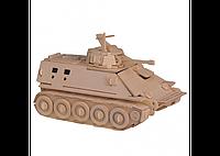 3D пазл танк (3 доски)