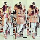 Зимняя куртка парка с мехом Мэмори Конверс на овчине Converse All Star. 6 цветов