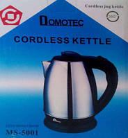 """Чайник электрический дисковый """"Domotec"""" MS-5001, 1.8л"""